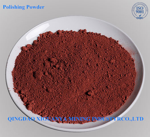 Red Rare earth polishing powder