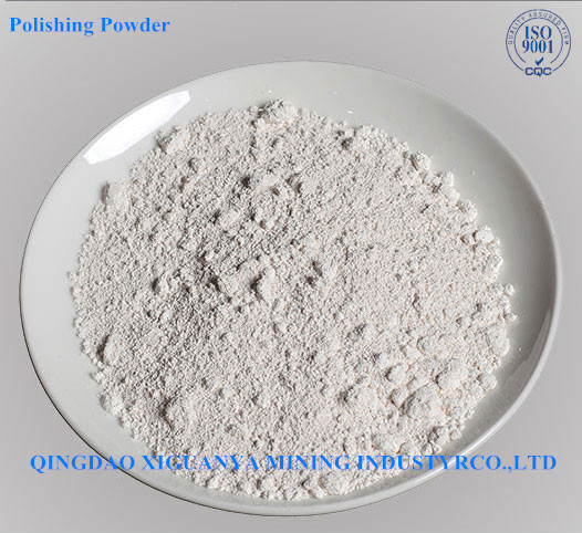 White Rare earth polishing powder